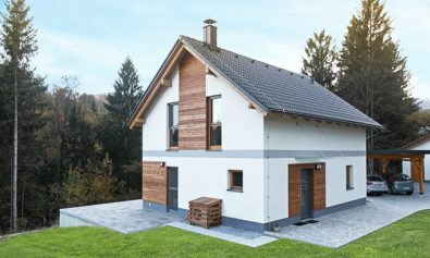 Enodružinska montažna hiša