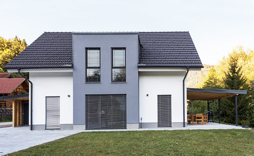 Enodružinska montažna hiša Kamnik