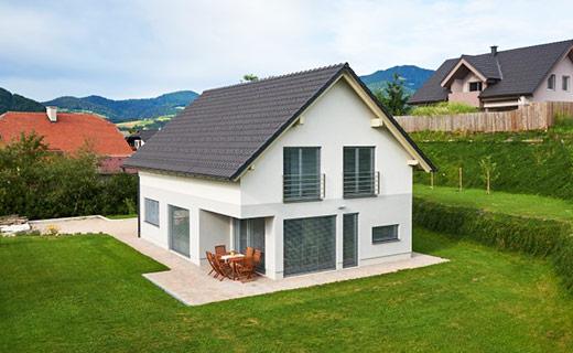 Enodružinska montažna hiša Slovenj Gradec