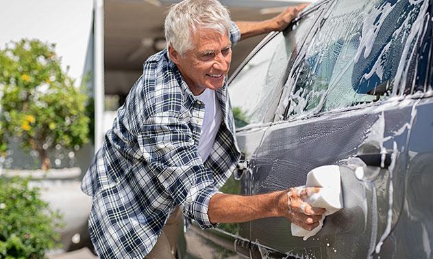 Goba za pranje avtomobila